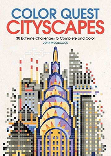Pdf Crafts Color Quest: Cityscapes: 30 Extreme Challenges to Complete and Color