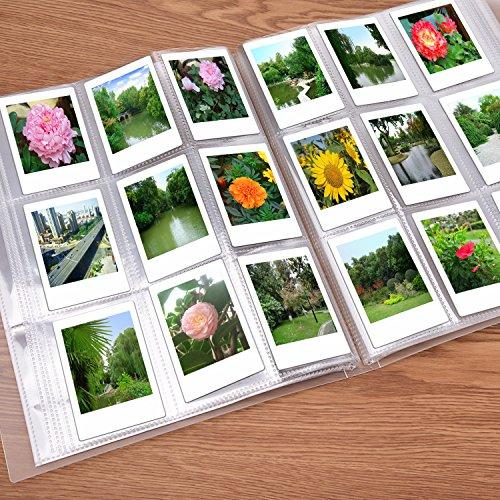 Sunmns 288 Pockets Clear Mini Photo Album for Fujifilm Instax Mini 9 8 90 8+ 7s 25 26 50s 70 Film by Sunmns (Image #5)