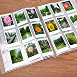 Sunmns 288 Pockets Clear Mini Photo Album for