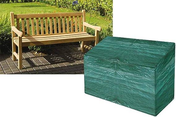 Tooltime - Funda para Banco de jardín (3 Asientos, 3 plazas), Color Verde: Amazon.es: Jardín