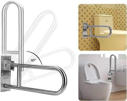 Amazon Com Handicap Grab Bars For Bathroom Shower Toilet Safety Rails Flip Up Grab Bar Shower Handles For Elderly Bathtub Grab Bar Toilet Support Tub Handle Bath Safety Railing Folding Grip Bar Assist