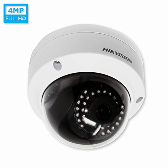 Hikvision 4331911249 WDR Fixed HD Dome Camera (White) Dome Cameras at amazon
