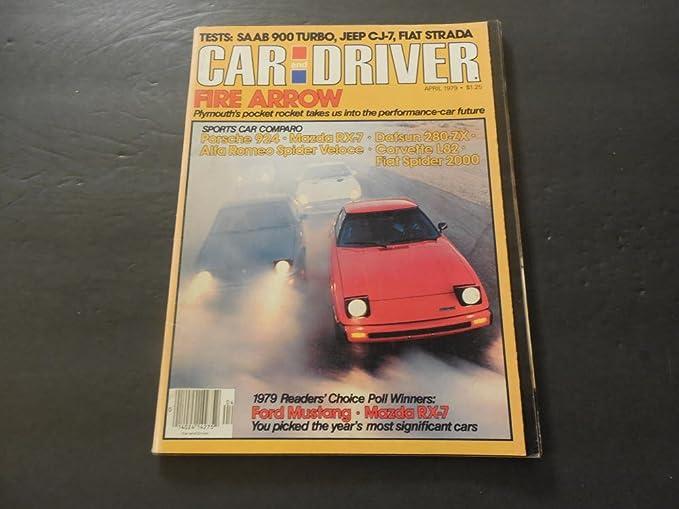 Car And Driver Apr 1979 Saab 900 Turbo; Jeep CJ-7; Fiat Strada