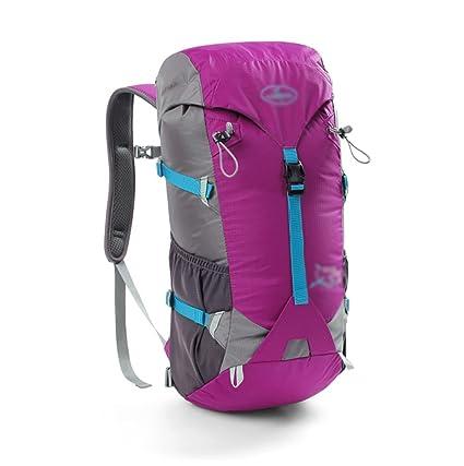 mochilas montaña Los hombres y las mujeres al aire libre bandolera mochila de senderismo bolsa de
