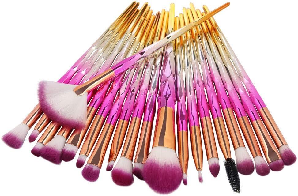 Ninasill 15 Colors Makeup Concealer Contour Palette + Water Sponge Puff + Makeup Brush (D)