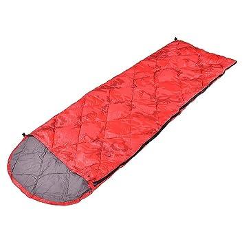 HX outdoor Saco de Dormir,Plumas Edredón Tipo de Envoltura Exterior Ultra Light Camping y