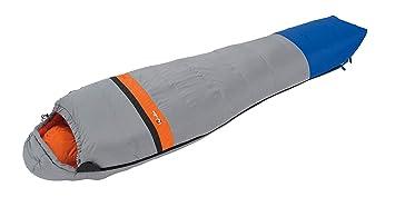 Wilsa Outdoor Light 4 ° – Saco de Dormir Tipo Momia 225 x 80 cm Gris