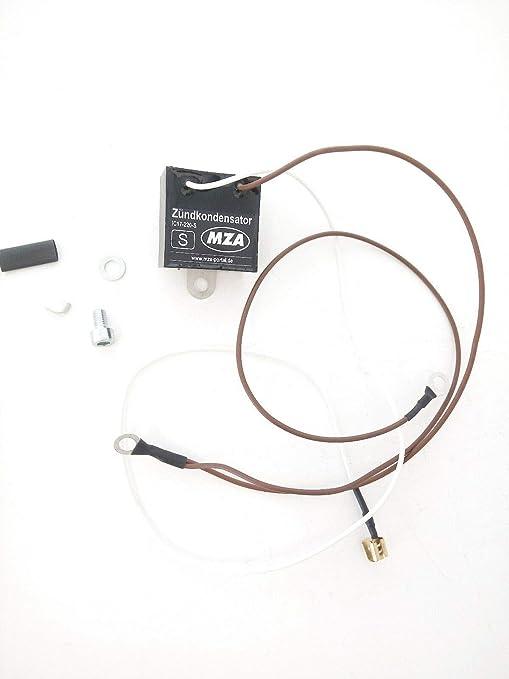 Umrüst Set Elektronisch Außenliegender Zündkondensator Simson S50 S51 Auto