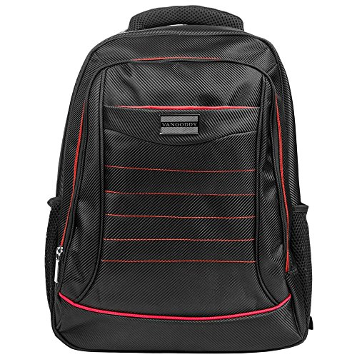 Travel Bag Black Red fits 13 to 15 inch Laptops for Asus FX and ZX, ASUS TUF Gaming, StudioBook