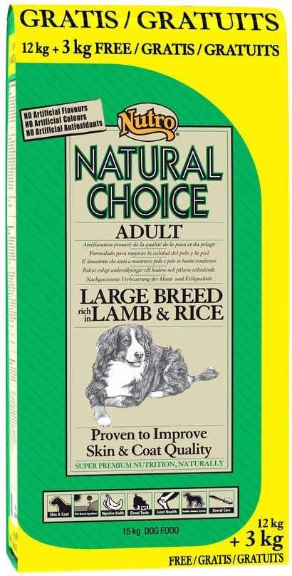 NUTRO - Pienso para Perros Raza Grande Choice Adult Large Cordero ...