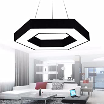office chandeliers. CJSHVR Chandeliers Led Office Chandelier Creative Personality Modern Simple Internet Bar Exhibition Hall Lamp Industrial Wind R