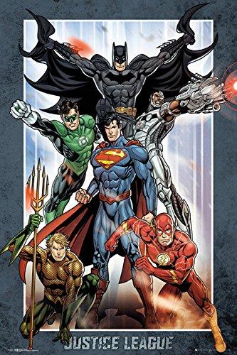 Justice League Of America - JLA - DC Comics Poster / Print