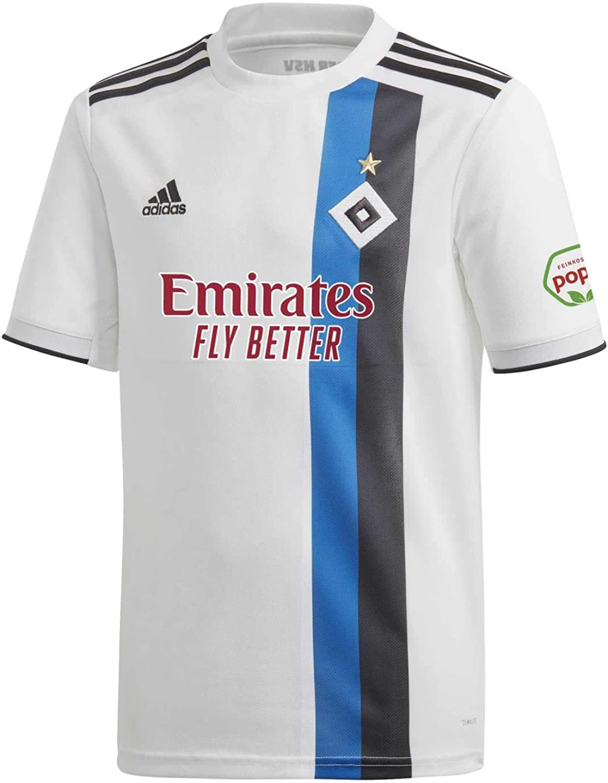 adidas Kinder Hamburger SV 19//20 Heim Fu/ßballtrikot