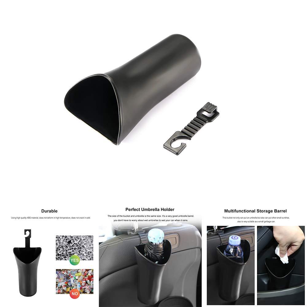 Romsion Auto Ombrello barile ABS Appeso Universale Storage Box Sedile Posteriore Porta Laterale Multifunzionale detriti Holder