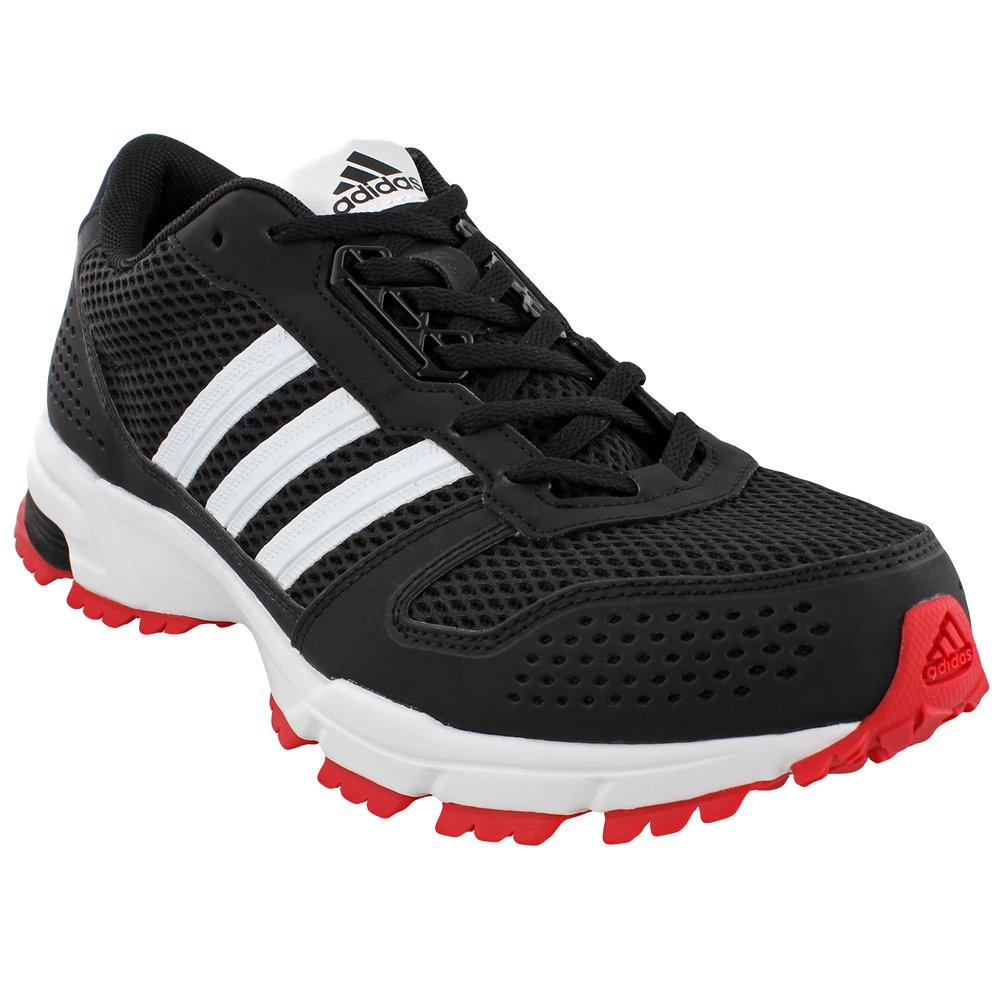 adidas outdoor Men's Marathon 10 Trail B01MZ6I24Q 9 D(M) US|Black/White/Scarlet