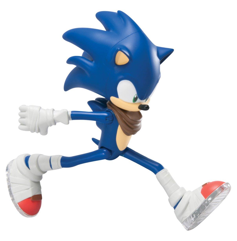 amazon com sonic the hedgehog tomy sonic w running action 7