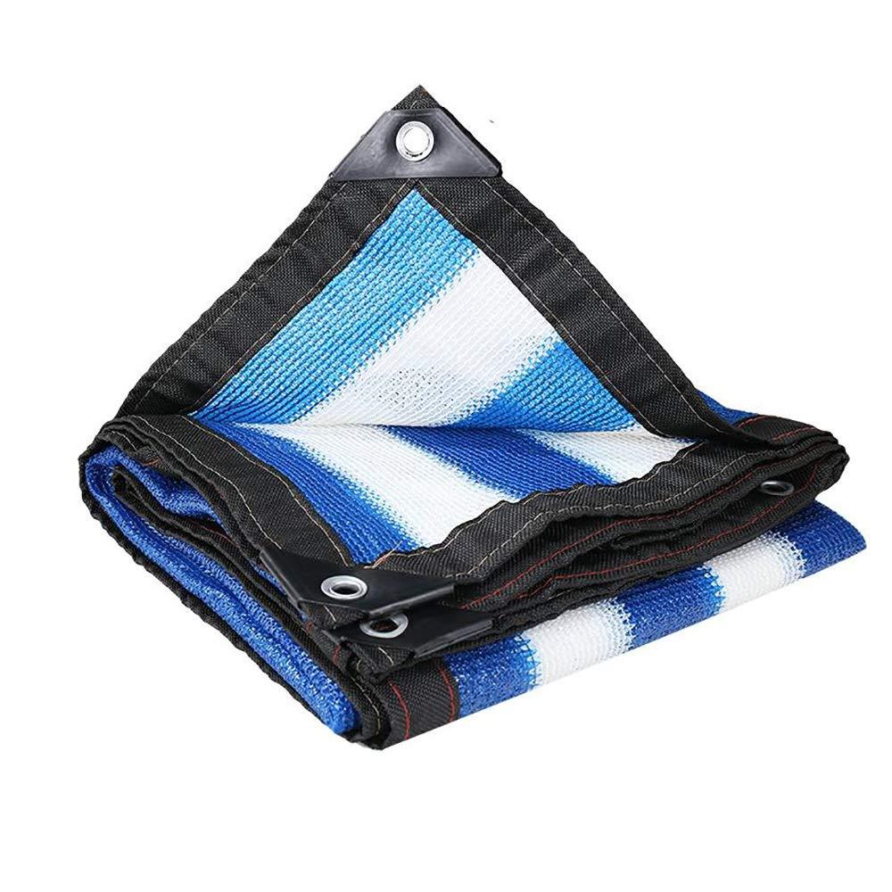 High-end Shade Net blu e bianca Shade Net 8 8 8 Pin Encryption Ispessimento Anti-aging Edge Punzonatura Prossoezione solare Net Shading Net (Coloree   rossoblu, Dimensione   4x4m) B07GVMXNYX 4x4m rossoblu | Autentico  | Exit  | Esecuzione squisita  | Di Al f452eb