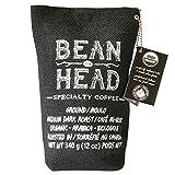 Bean Head #1 Canadian Organic & Mould Free Coffee, Ground