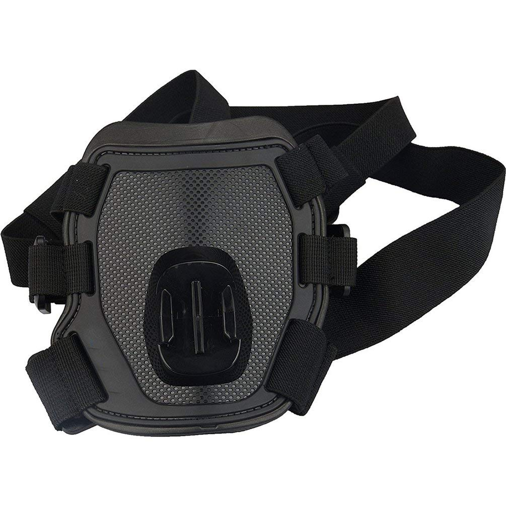 Sweepingy Camera Accessories Dog Harness Mount Chest Strap Mount Camera Dog Chest Band Black