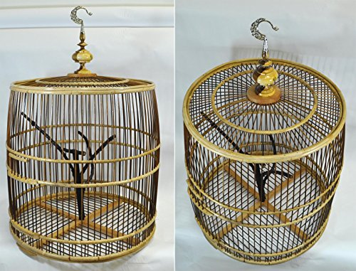 Bamboo Birdcage - 6