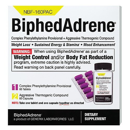 GENERIX Laboratories LLC BiphedAdrene