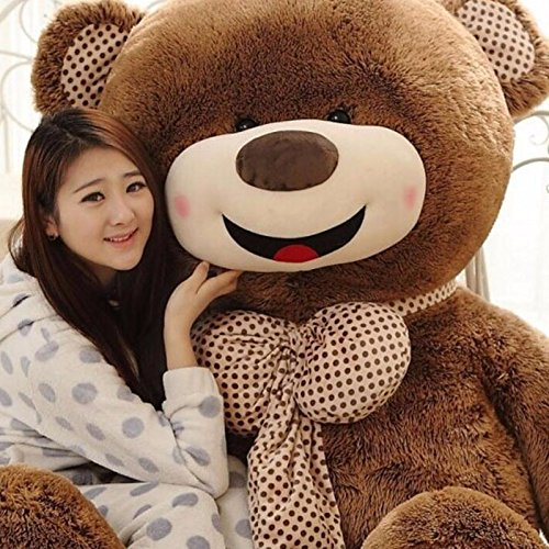 Stuffed Animals Teddy Bears Valentine day Gifts New Year 100cm Teddy Bear Big Huge Lovely Giant Teddy Bears Stuffed Animal Plush Toy Gift Plush Ted Juguetes For Valentine's Day Gift By Gangnumsky
