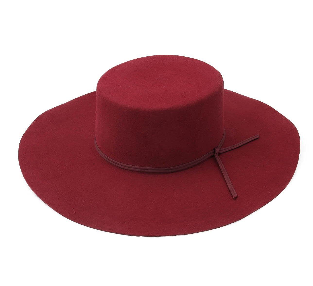7a601a80ac74f Brixton - Floppy Hat Wool Felt Women Buckley - Size XS  Amazon.co.uk   Clothing