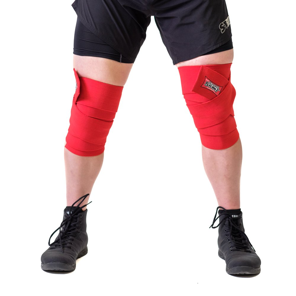 Sling Shot World Record Knee Wraps (3.0m, Red)