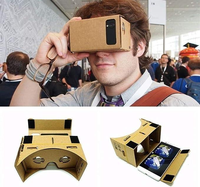 You will think of me VR Gafas De Cartón Gafas 3D para Android DIY ...