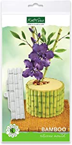 Bamboo Mould, Flower Pro by Nicholas Lodge for Cake Decorating, Crafts, Cupcakes, Sugarcraft, Candies and Clay, Food Safe, Made in The UK
