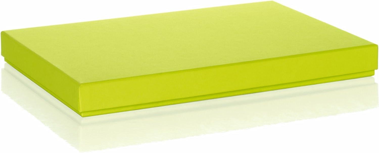 R/össler 1352453320 Bo/îte en carton Boxle pour documents A4 Vert lime Import Allemagne