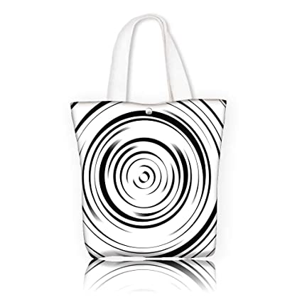 Amazon com: Canvas Tote Bag —W11 x H11 x D3 INCH/Casual Top