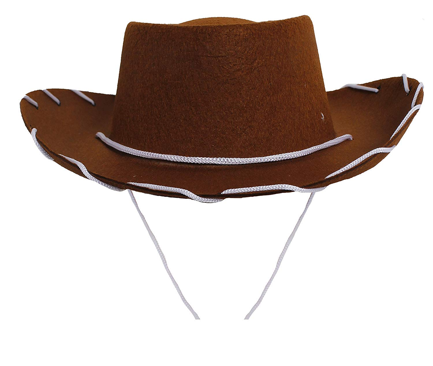 c97564ee8 CHILDS COWBOY HAT FANCY DRESS ACCESSORY HATS COW BOY WILD WEST HAT IN  BLACK, BROWN OR RED. 52CM HEADSIZE BOYS GIRLS COWGIRL (BLACK, PACK SIZE OF  1)