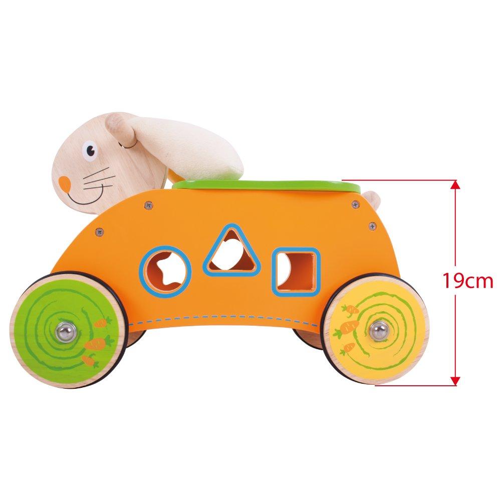 Bigjigs Toys Conejo de Montar: Amazon.es: Juguetes y juegos