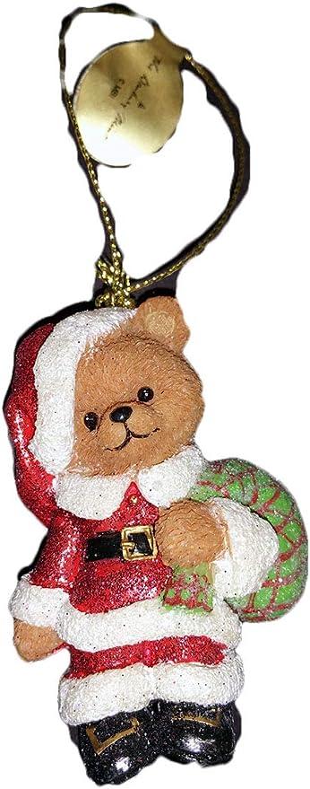 Plush Bears Danburymint Christmas 2020 Amazon.com: Danbury Mint Teddy Bear Glitter Ornament, Santa Bear