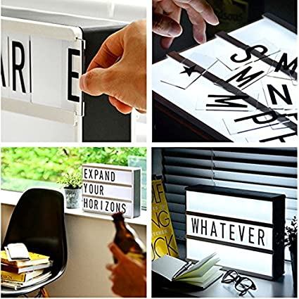 triple a romantic christmas gifts lightbox diy cute free combination cinematic light box with letters and