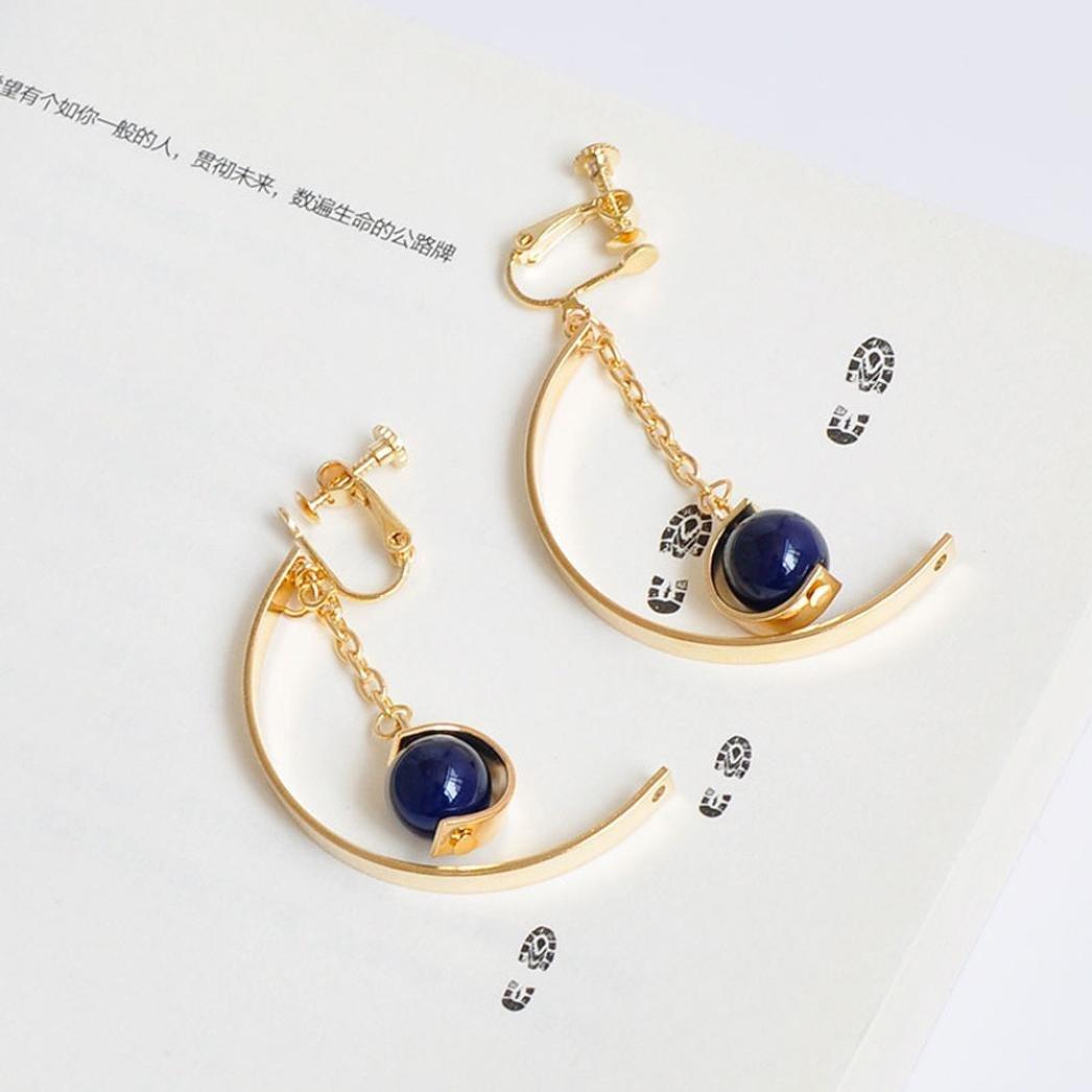 Becoler Bridal Dangle Earrings Prom Earrings for Wedding Party