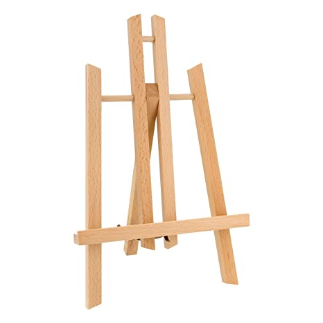 """Us Art Supply 11"""" Tall Small Tabletop Display A Frame Easel (1 Each) by Us Art Supply"""