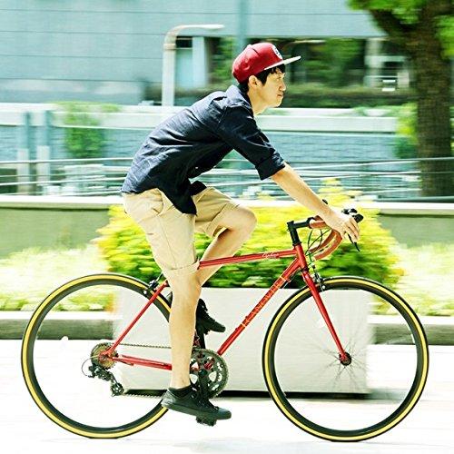 ロードバイク 700c(約28インチ)/レッド(赤) シマノ14段変速 軽量 重さ11.5kg 【ORPHEUS】 オルフェウスCAR-013【代引不可】 生活用品 インテリア 雑貨 自転車(シティーサイクル) ロードバイク top1-ds-1634424-ah [簡素パッケージ品] B06XQWG27M
