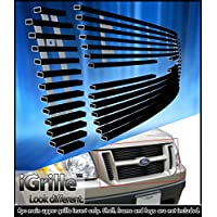 Fits 01-03 Ford Explorer Sport/01-05 Sport Trac Stainless Steel Billet Grill #F65323J