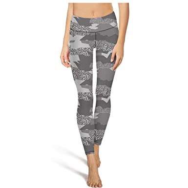 419b5b4593bcc PLOKINC Flare Yoga Pants for Womens Workout Leggings Camouflage Army High  Waist Girls Tights
