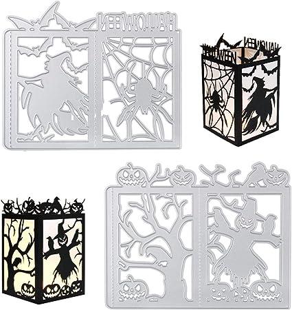 gaufrage matrice de d/écoupe en m/étal DIY Scrapbooking cartes en papier arbre de cerf Matrices de d/écoupe pour la fabrication de cartes