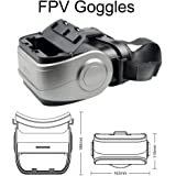 ElementDigital MJX G3 FPV Goggles for MJX Bugs 8 Pro Drone, Along with D43 Receiver Display, RC Drone with Camera, Spare Part