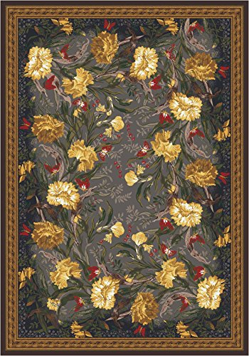 Milliken Pastiche Barrington Court Area Rug Ebony/7