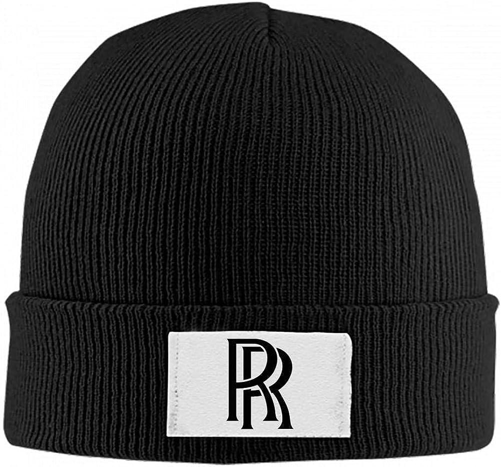 BEKAI Rolls-Royce Auto Logo Soft Skull Caps,Unisex Winner Warm Beanies Hats for Men//Women