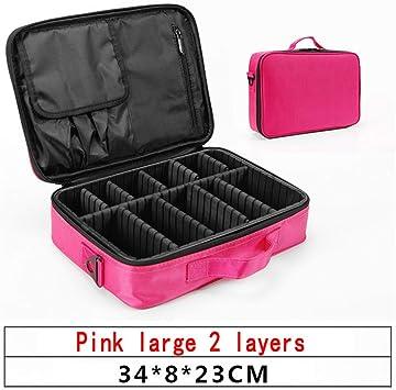 Bolsa de cosméticos Hmj Mujer Maquillaje Profesional Organizador Estuche cosmético: Amazon.es: Equipaje