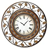 Cheap Deco 79 Metal Wall Clock to Track The Time