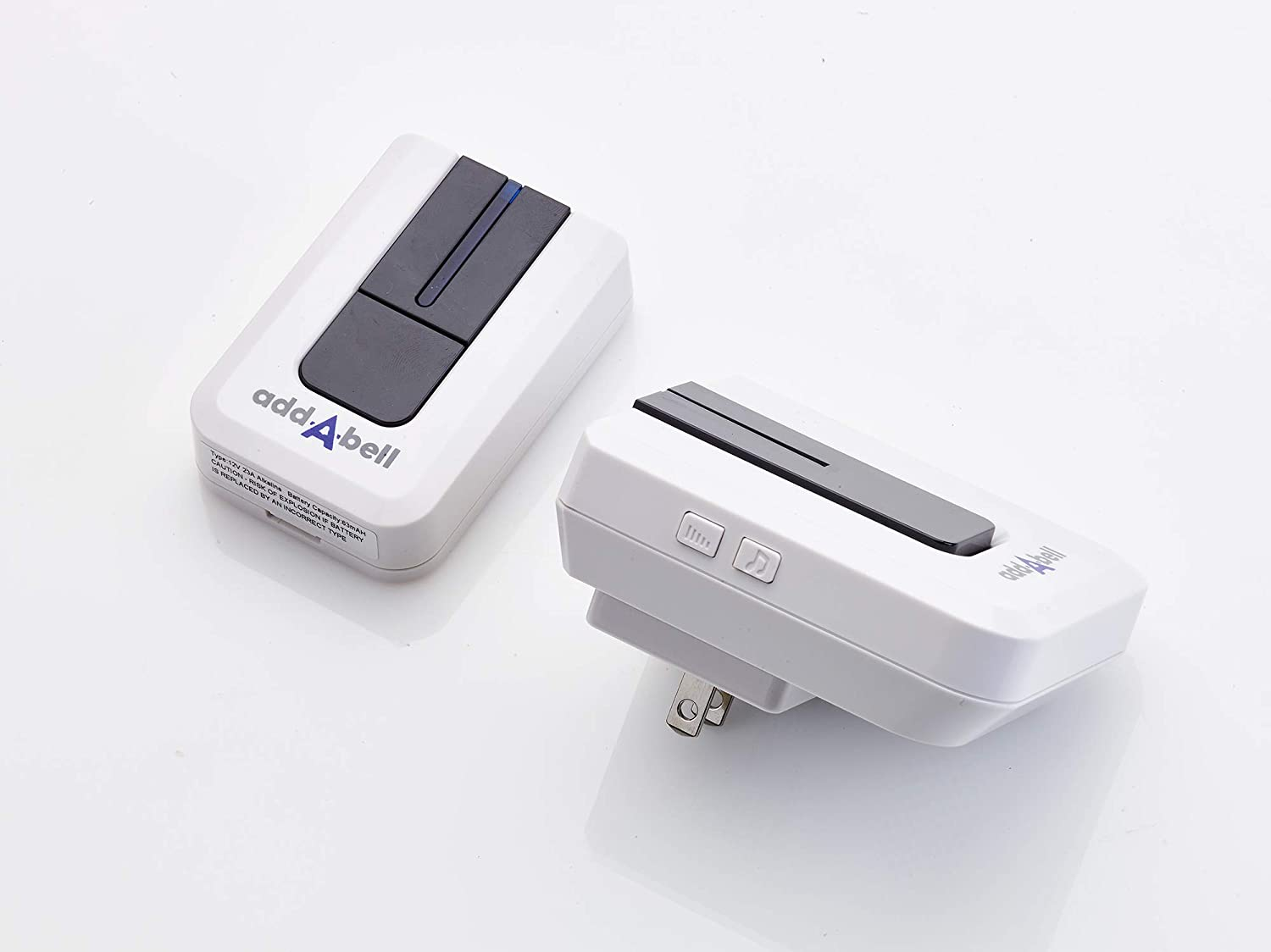 Rishon Enterprises Inc UL Approved RE1040 Addabell Wireless Plug-in Door Bell with 50 Tunes