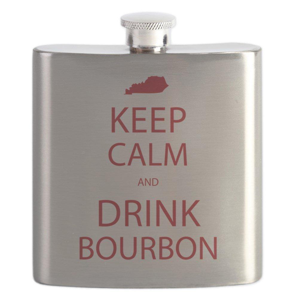【予約販売品】 CafePress – Keep Calm – and Drink B01IUKNKGC Bourbon Bourbon – ステンレススチールフラスコ、6オンスDrinkingフラスコ B01IUKNKGC, e-Backs:1cda333a --- a0267596.xsph.ru