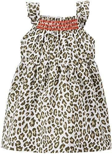 f571e4481f 1 bình luận. Từ Mỹ. Carter s Leopard Print Dress (Baby) White